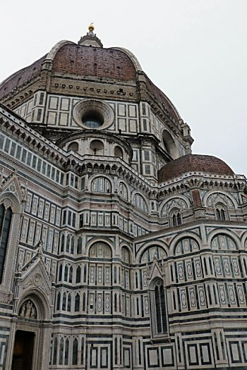 The dome on Santa Maria del Fiore Cathedral