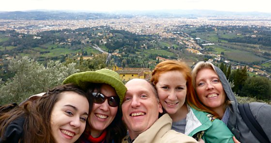 The view of Florence from Fiesole
