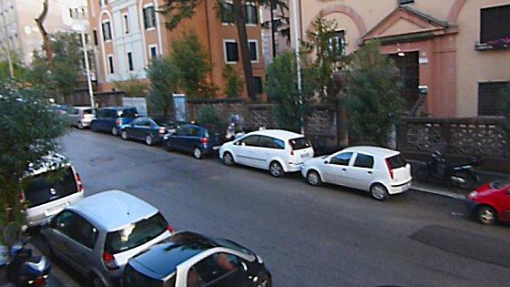 Trastevere street.
