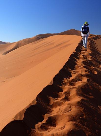 Ridge around Dead Pan, Namib-Naukluft National Park