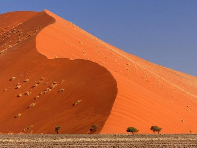 Dunes at Sesriem, Namib-Naukluft National Park