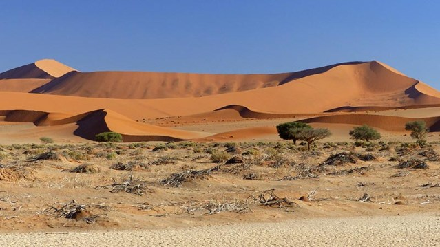 Dunes at Sesriem, Namib-Naukluft National Park