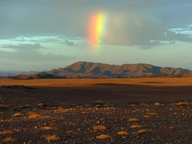 Rainbow, Namib-Naukluft National Park