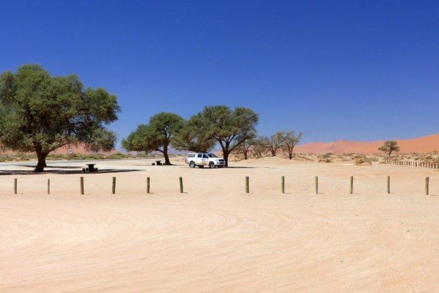 Last Car in the Lot, Namib-Naukluft National Park