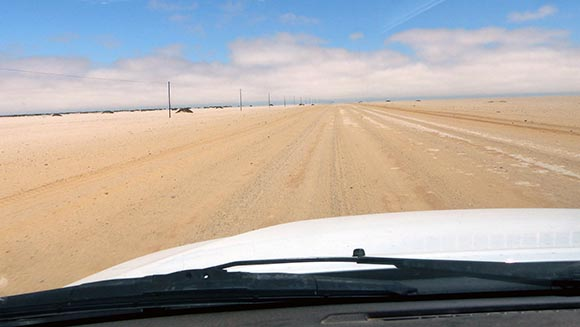 Most Desolate Road in Namibia