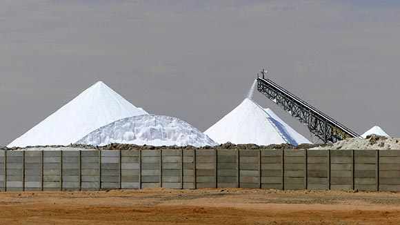 Salt Works, Walvis Bay, Namibia