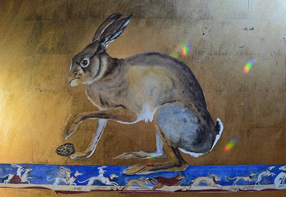 Hare's Egg, by Jackie Morris