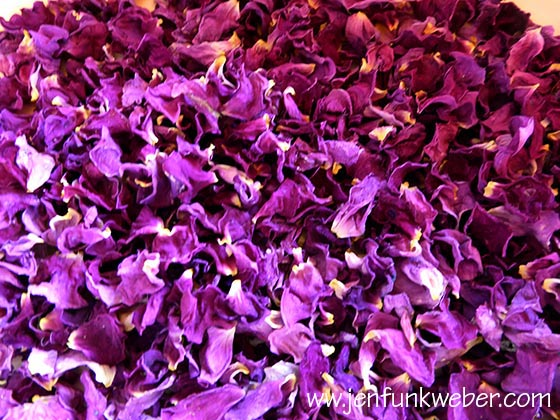 Dried Rose Petals For Tea and Syrup
