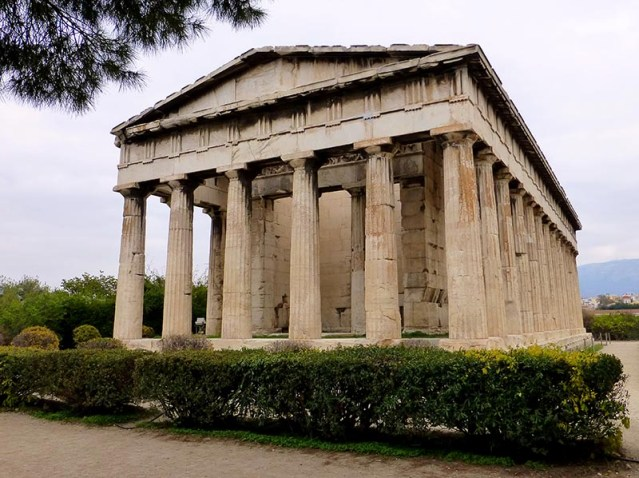 Temple of Hephaestus, Athens - Jen Funk Weber