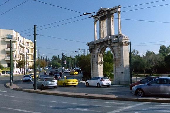 Hadrian's Arch - Jen Funk Weber