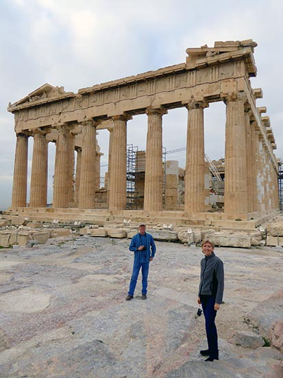 The Parthenon at the Acropolis - Jen Funk Weber