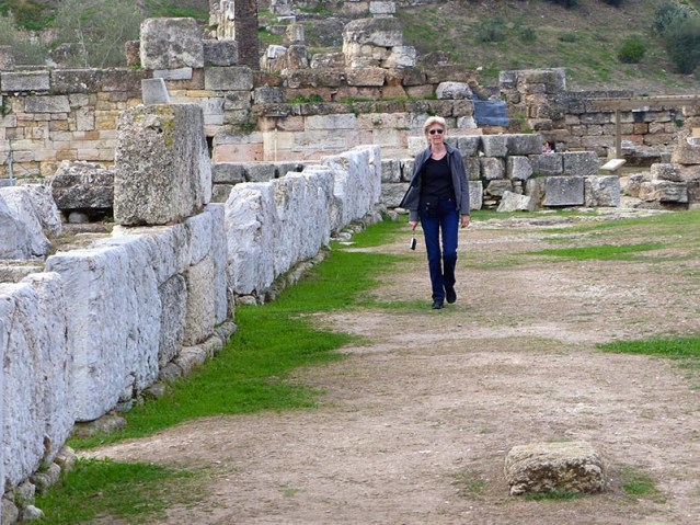 Ancient Athens city wall in Kerameikos - Jen Funk Weber