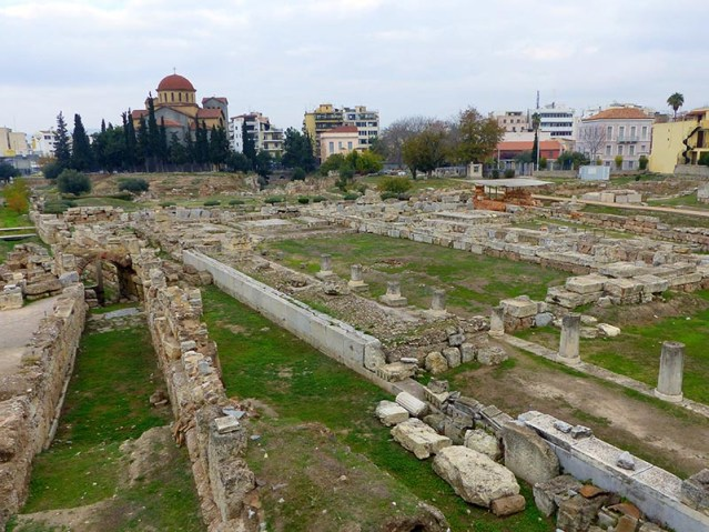 Ancient ruins under cities in Greece - Jen Funk Weber