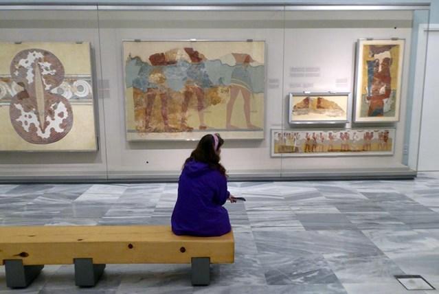 Fresco Room, Heraklion Museum, Crete, Greece - Jen Funk Weber