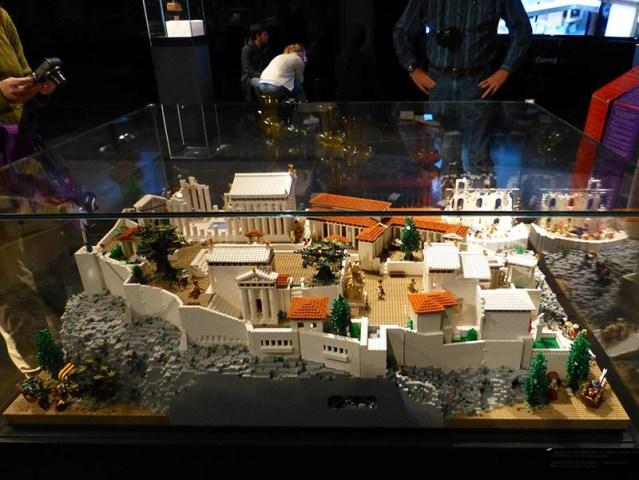 Lego Acropolis, Erechtheion side - Jen Funk Weber