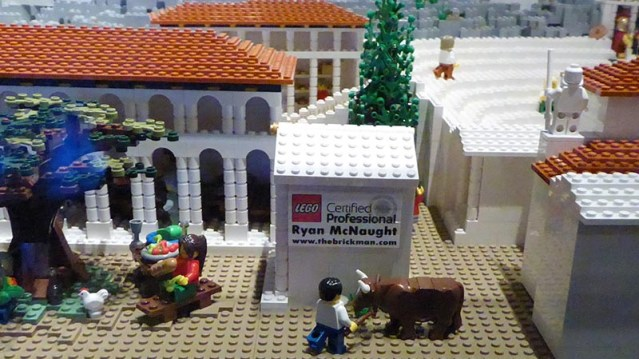 Lego Certified Professional, Ryan McNaught, Acropolis Museum