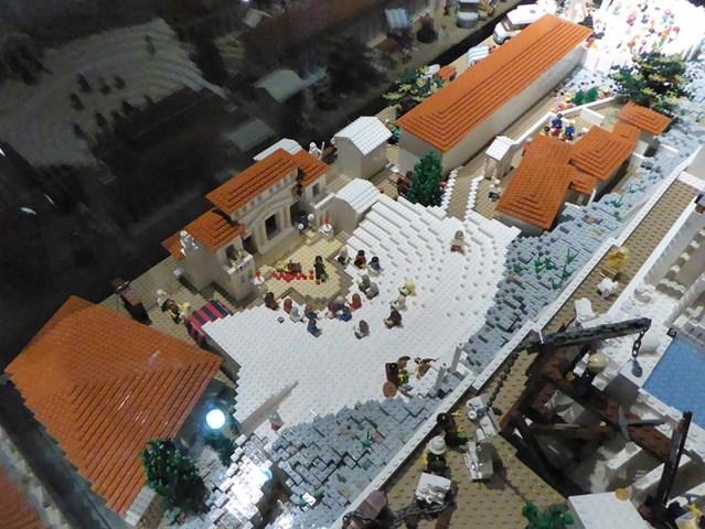 Lego Theater of Dionysus, Acropolis - Jen Funk Weber