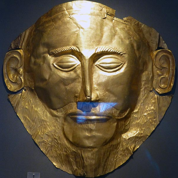 Mask of Agamemnon, National Archaeological Museum, Athens