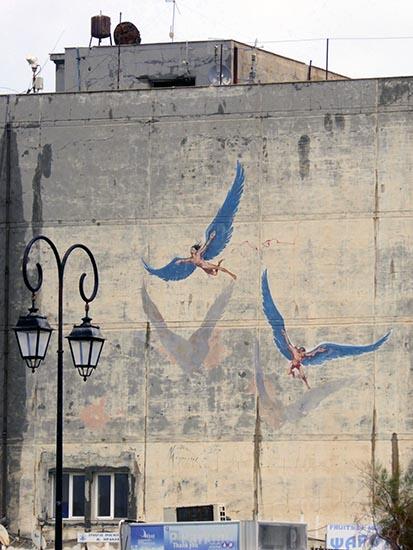 Mural, Heraklion, Crete, Greece - Jen Funk Weber
