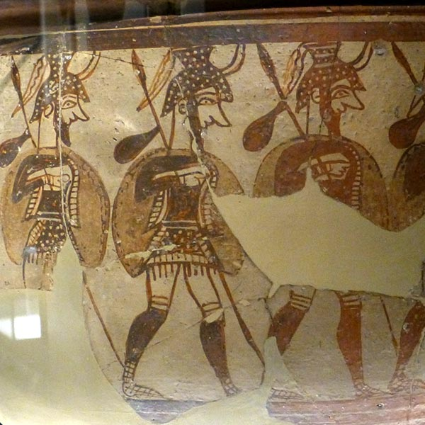Mycenean Warriors, National Archaeological Museum, Athens