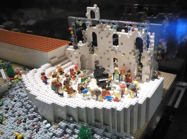 Lego Odeon of Herodes Atticus concert - Jen Funk Weber