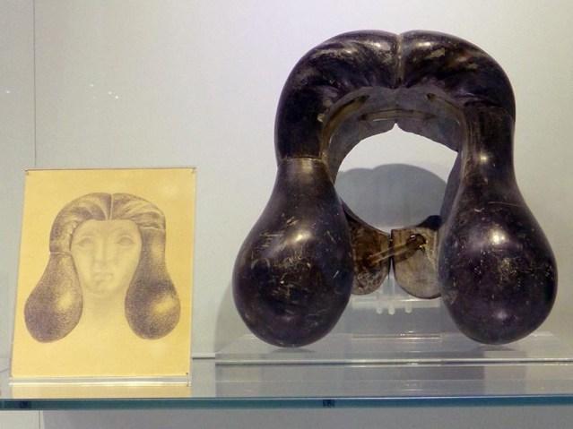 Rock wig, Heraklion Museum, Crete, Greece - Jen Funk Weber