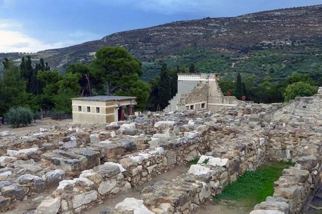 Ruins and restorations, Knossos, Crete - Jen Funk Weber
