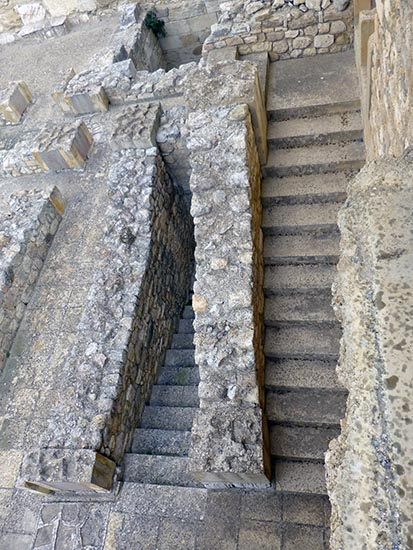 Stairs, Knossos, Crete, Greece - Jen Funk Weber