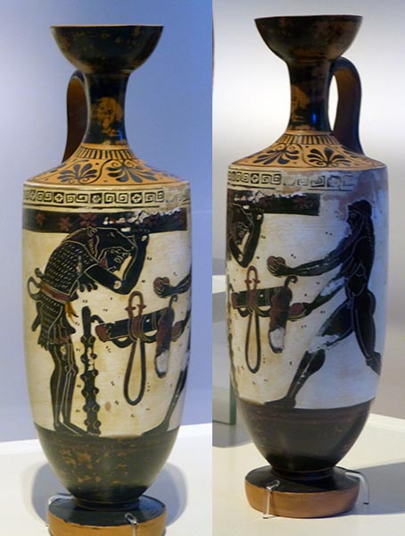 Story Vases 2, National Archaeological Museum, Athens