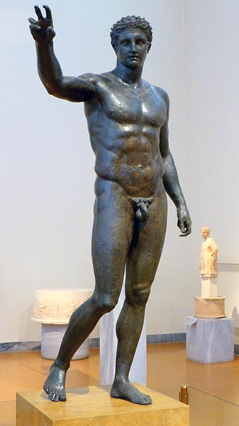 Youth of Antikythira, National Archaeological Museum, Athens