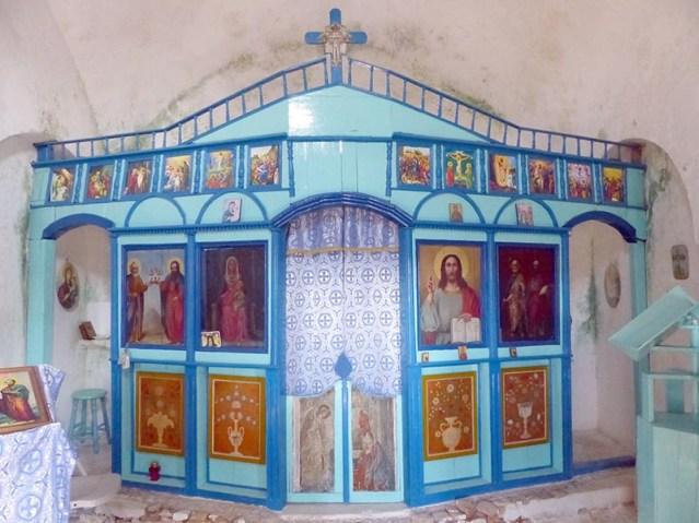 Aghios Petros interior, Leros - Jen Funk Weber