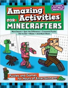 Amazing Activities for Minecrafters, puzzles by Jen Funk Weber