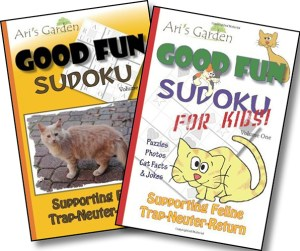 Good Fun Sudoku for Adults and Good Fun Sudoku for Kids, by Jen Funk Weber and Linda Stanek