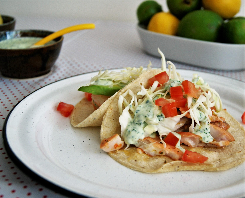 Tacos de huachinango