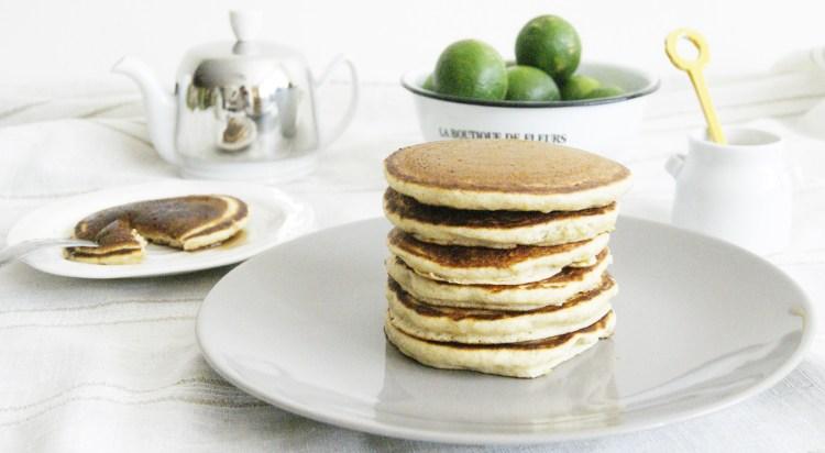 Hotcakes de limón y ricota