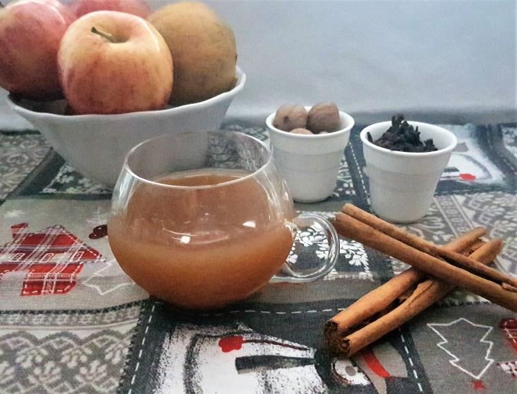 Sidra de manzana especiada