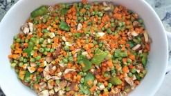 Cacerola de quinoa con carne de res y verduras