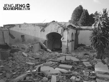 Bangunan hancur