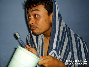 Bingung mo mandi