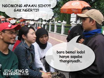Bahasa Walikan Jogja