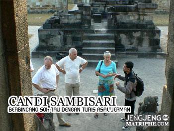 Berbincang sok tau dengan turis asal Jerman
