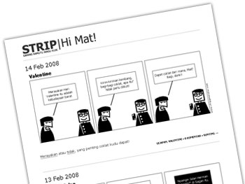 STRIP|Hi Mat!