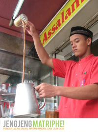 Atraksi Kopi Tarik Aceh