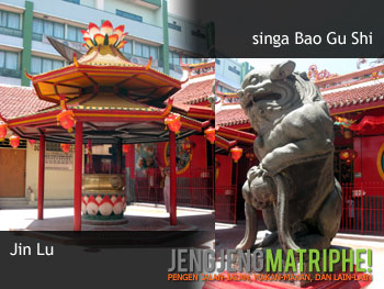 Jin Lu dan singa Bao Gu Shi