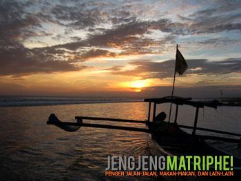 Sunset di Pangandaran