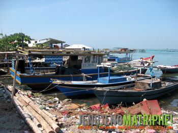 Salah satu sudut Pulau Panggang