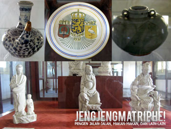 Keramik dari Cina dan Eropa