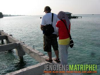 Shiratal mustaqim Pulau Tidung