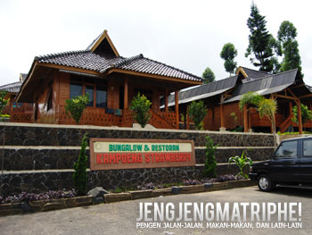 Bungalow dan Restoran Kampoeng Strawberry