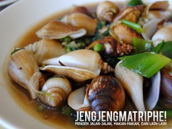 Gonggong, hidangan khas Batam